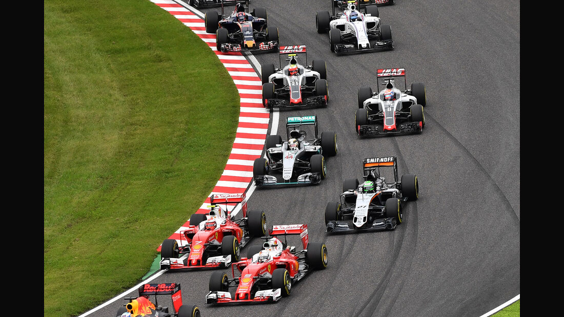 Start - GP Japan 2016