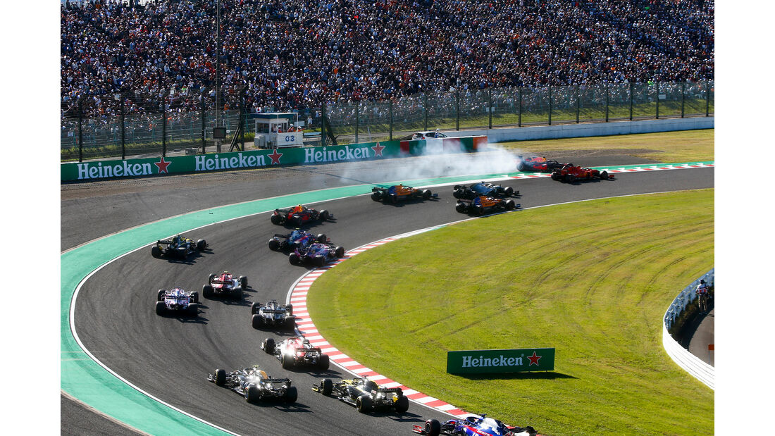 Start - GP Japan 2019