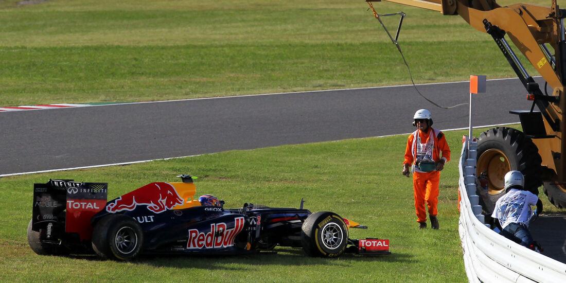 Start GP Japan Mark Webber 2012
