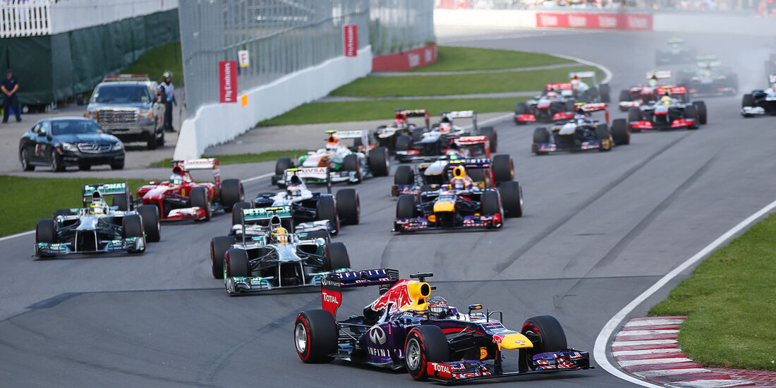 Start GP Kanada 2013