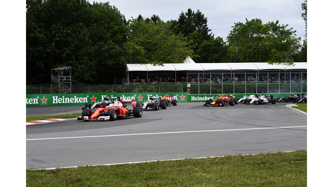 Start - GP Kanada 2016 - Montreal