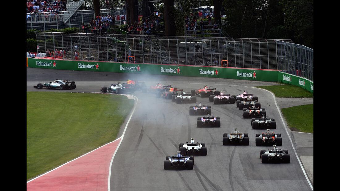 Start - GP Kanada 2017