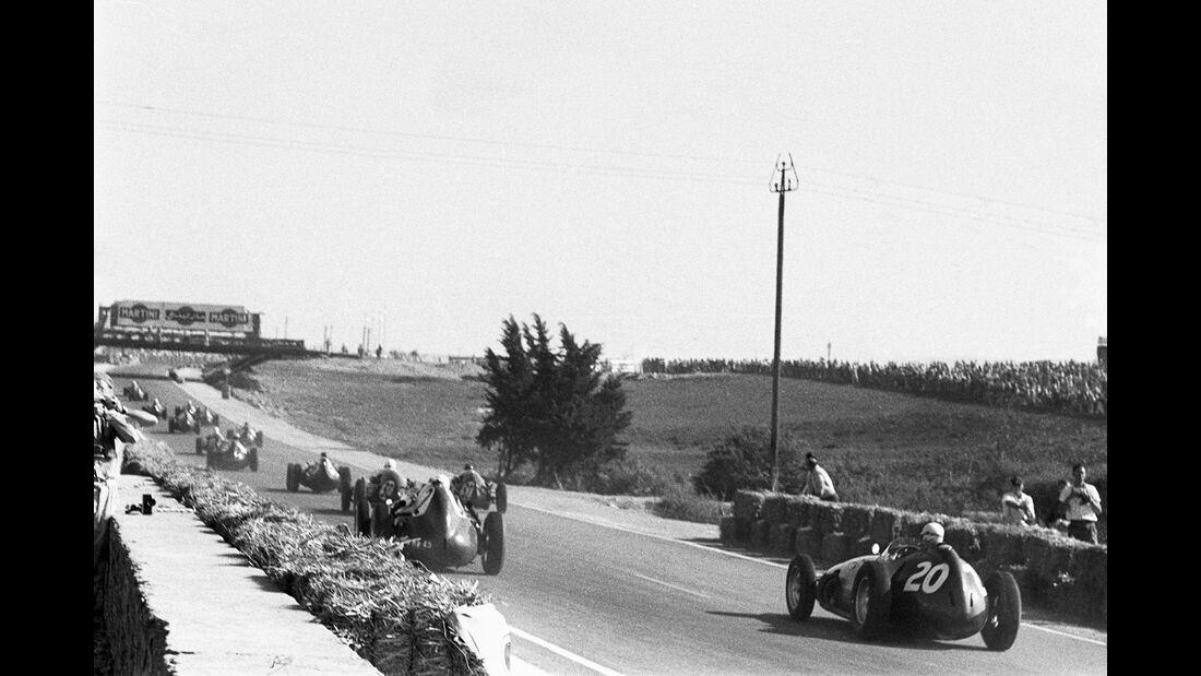 Start - GP Marrokko 1958 - Ain Diab