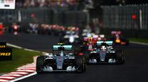 Start - GP Mexiko 2015