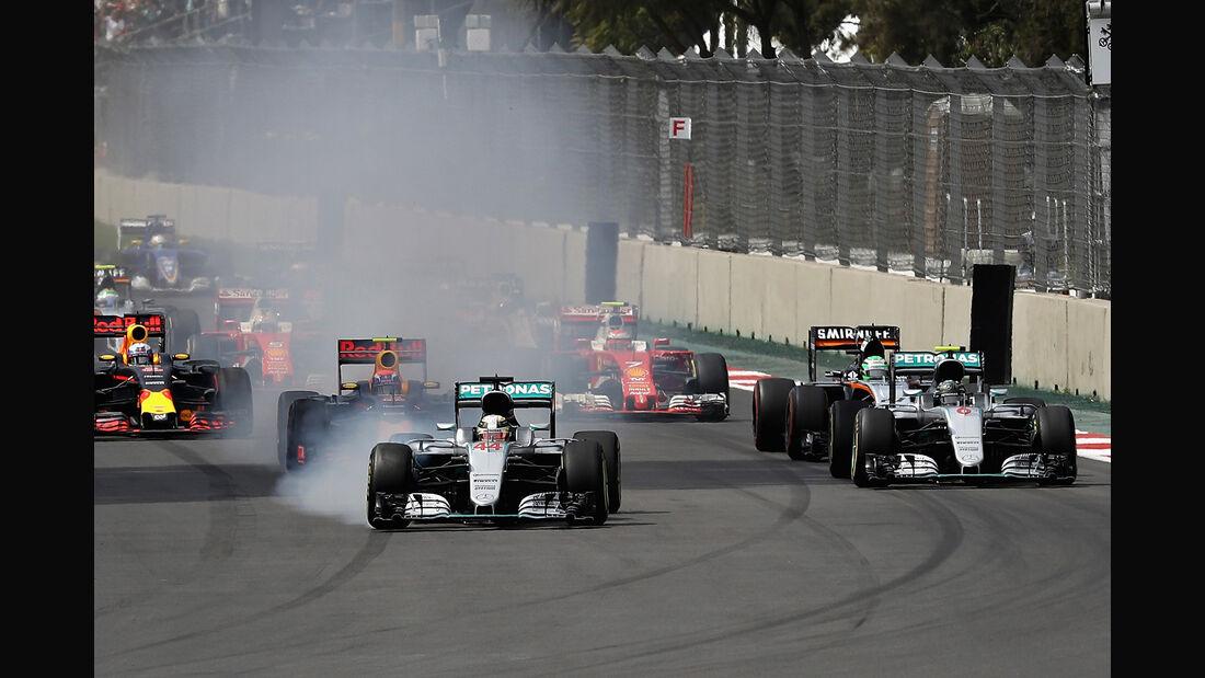 Start - GP Mexiko 2016