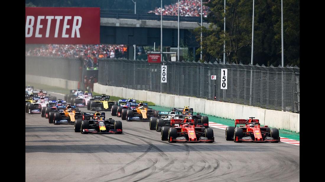 Start - GP Mexiko 2019