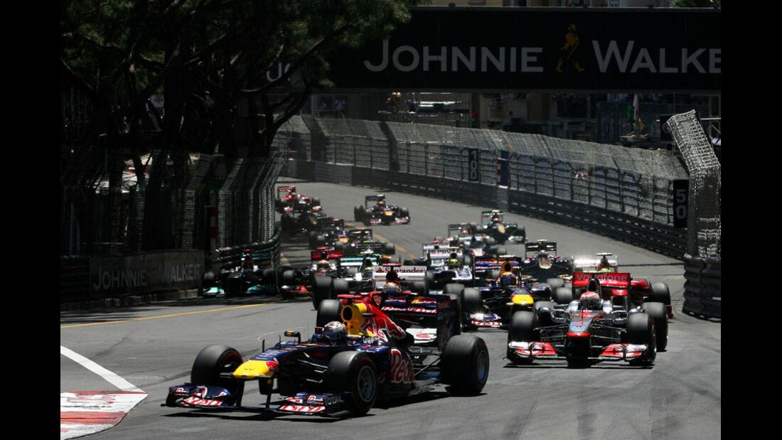 Start GP Monaco 2011