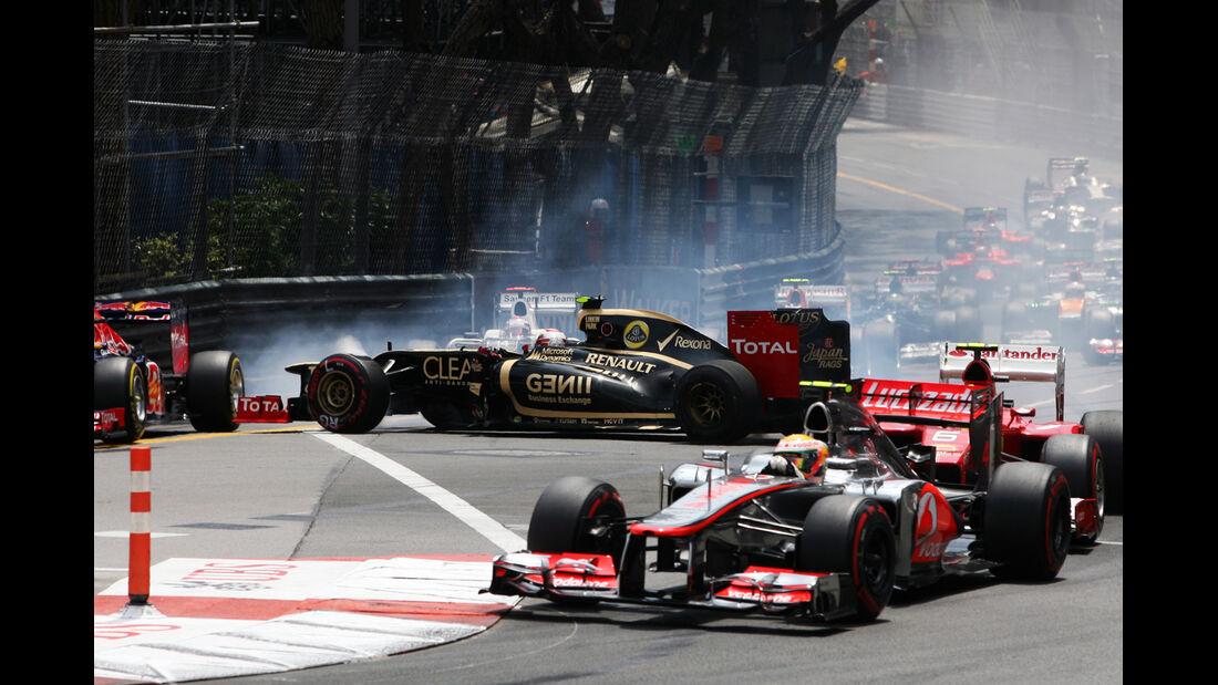 Start - GP Monaco 2012