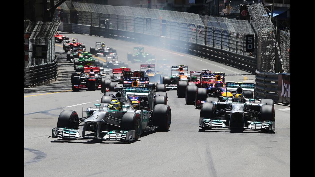 Start - GP Monaco 2013