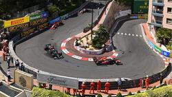 Start - GP Monaco 2021