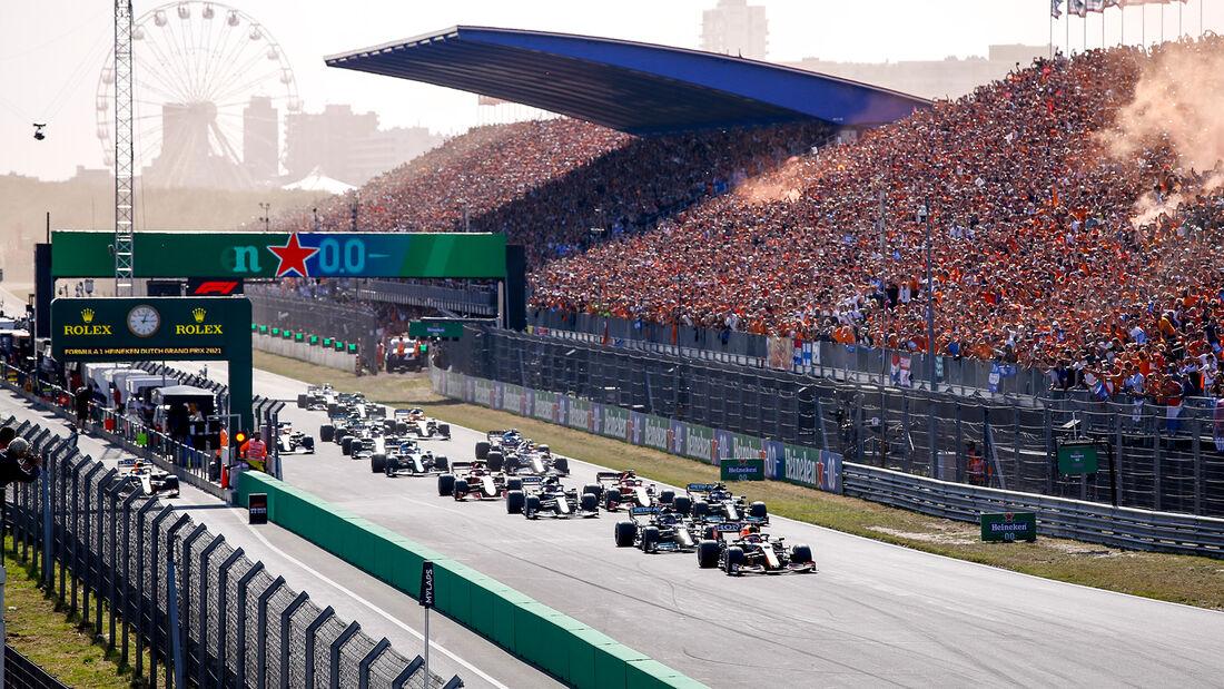 Start - GP Niederlande - Formel 1 - 5. September 2021