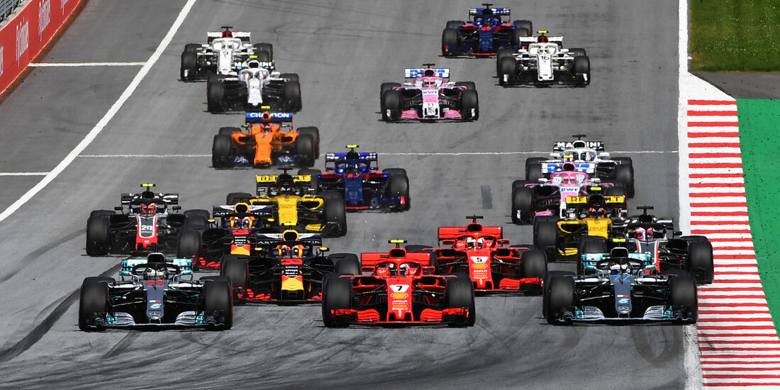 Start - GP Österreich 2018