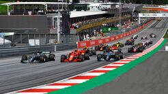 Start - GP Österreich 2019