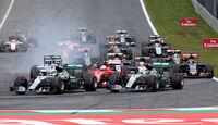 Start - GP Österreich - Formel 1 - Sonntag - 21.6.2015