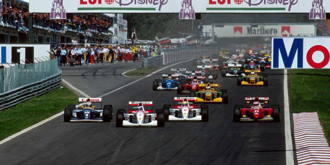 Start - GP Portugal 1993