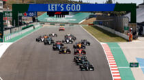 Start - GP Portugal - Formel 1 - 2. Mai 2021s