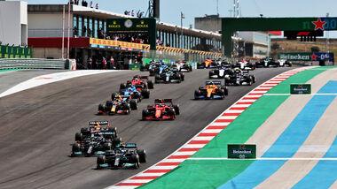 Start - GP Portugal - Portimao - 1. Mai 2021