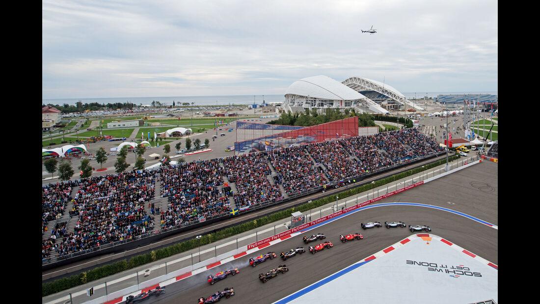 Start - GP Russland 2015 - Sochi - Rennen