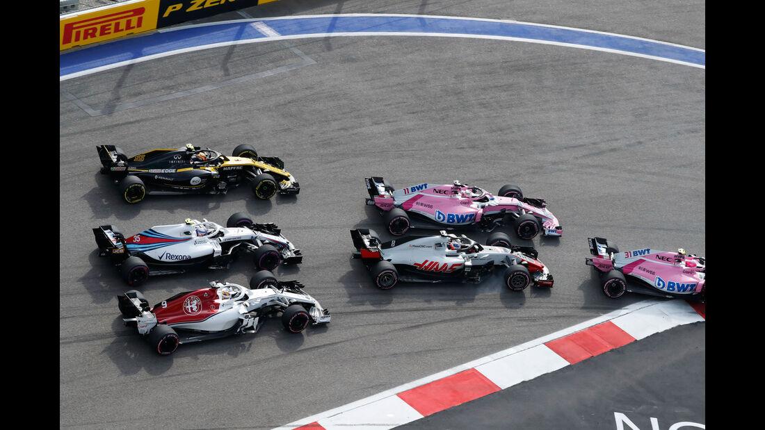 Start - GP Russland 2018 - Sotschi - Rennen