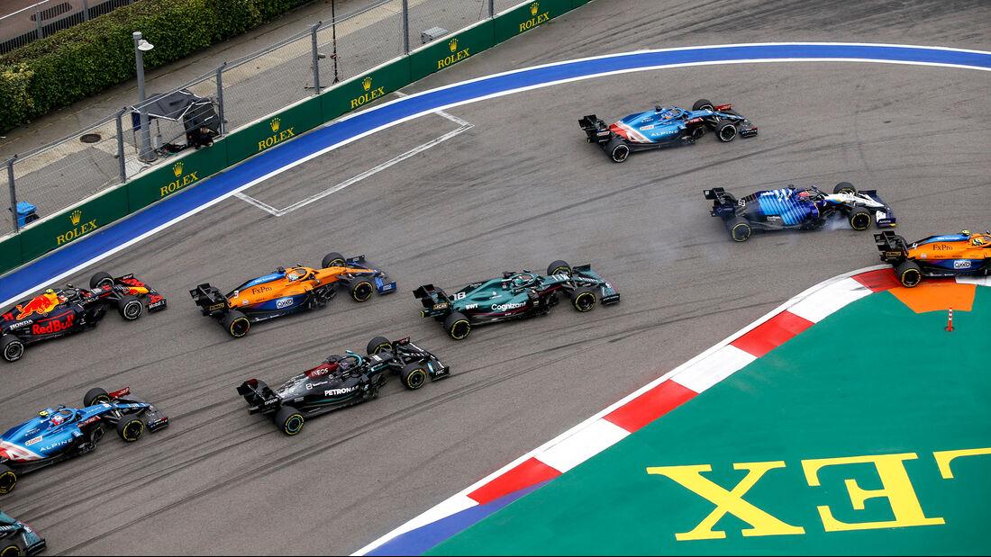 Start - GP Russland 2021 - Sotschi