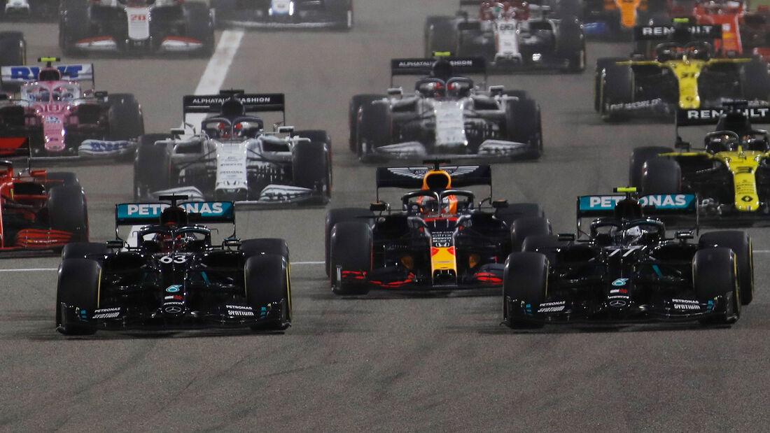 Start - GP Sakhir 2020 - Bahrain - Rennen