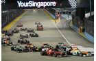 Start - GP Singapur 2012