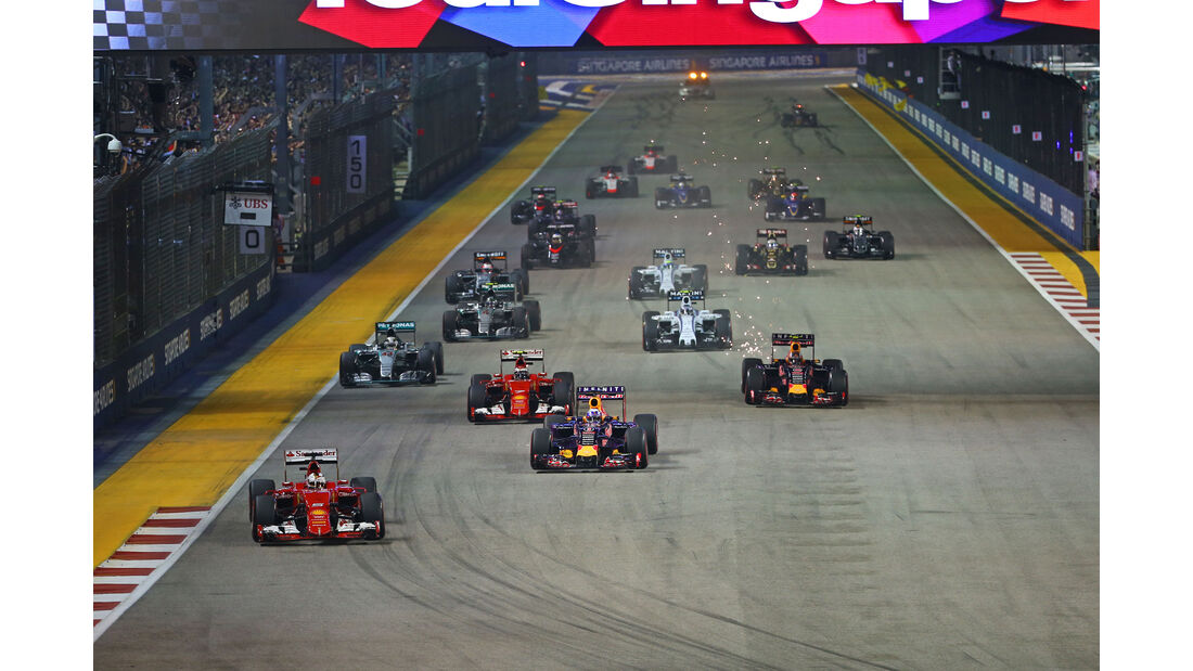 Start GP Singapur 2015
