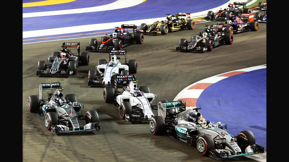 Start - GP Singapur 2015