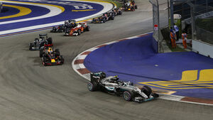 Start - GP Singapur 2016