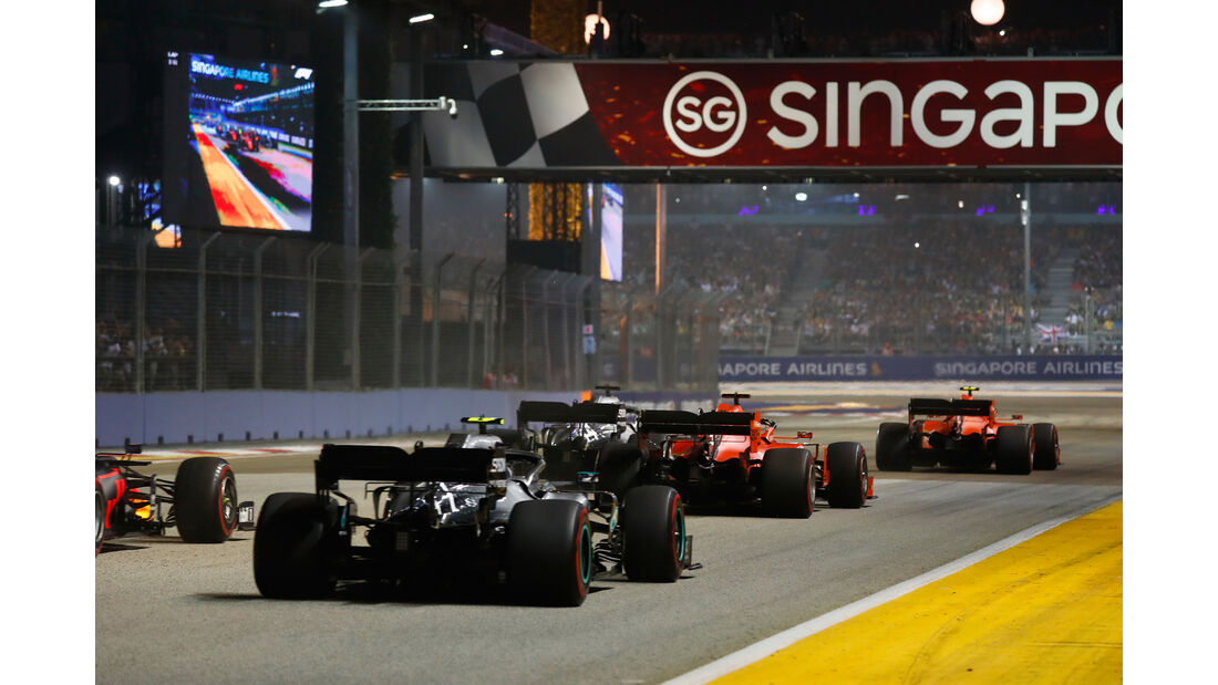 Start - GP Singapur 2019 - Rennen