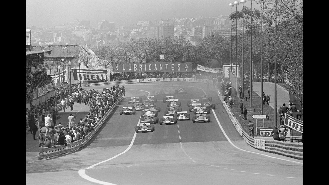 Start - GP Spanien 1971 - Montjuic Park
