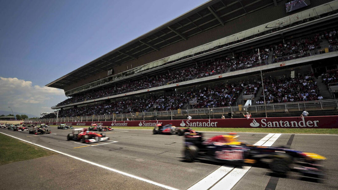 Start GP Spanien 2011