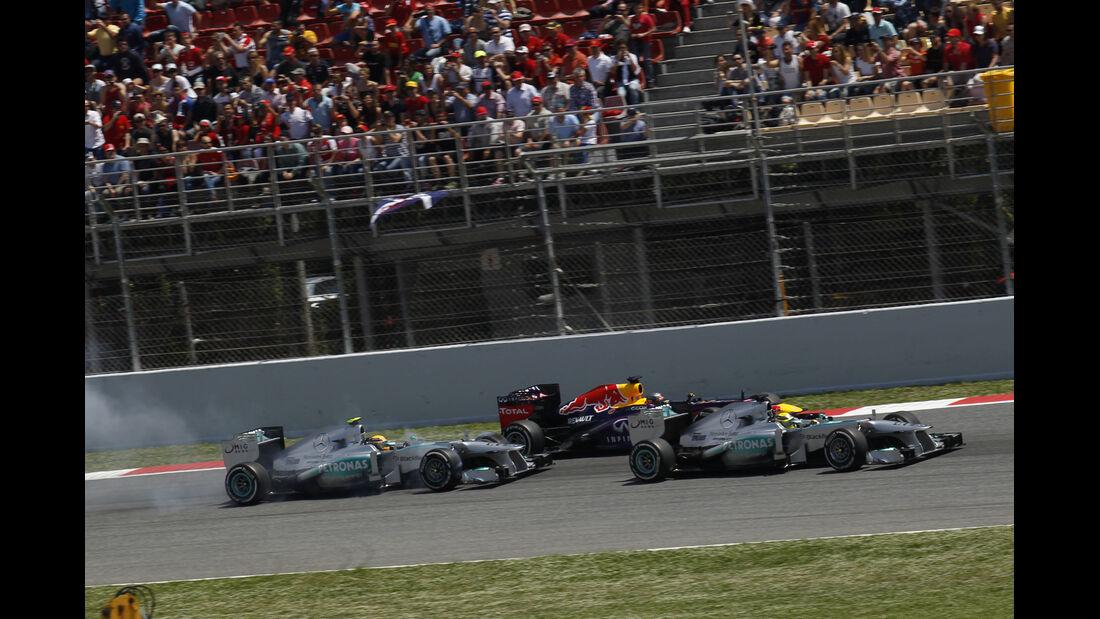 Start GP Spanien 2013
