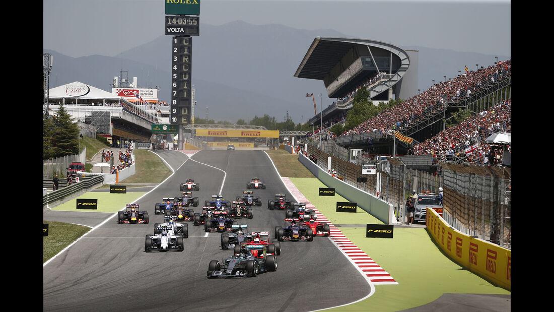Start - GP Spanien 2015