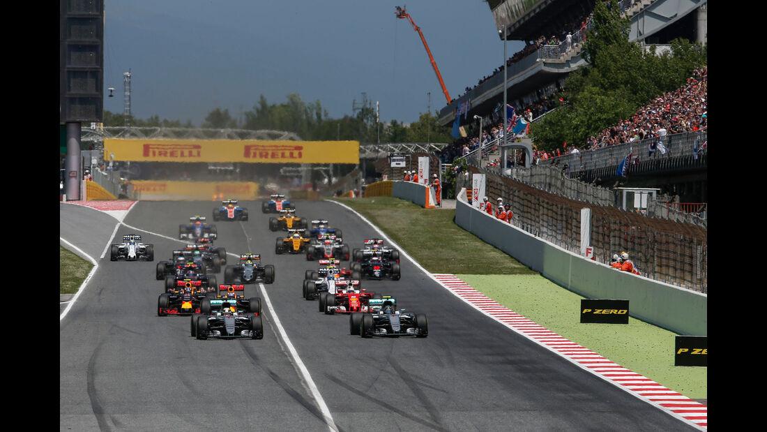 Start - GP Spanien 2016 - Barcelona - Sonntag - 15.5.2016