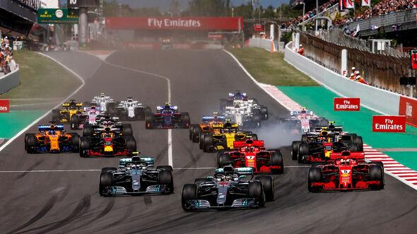 Start - GP Spanien 2018