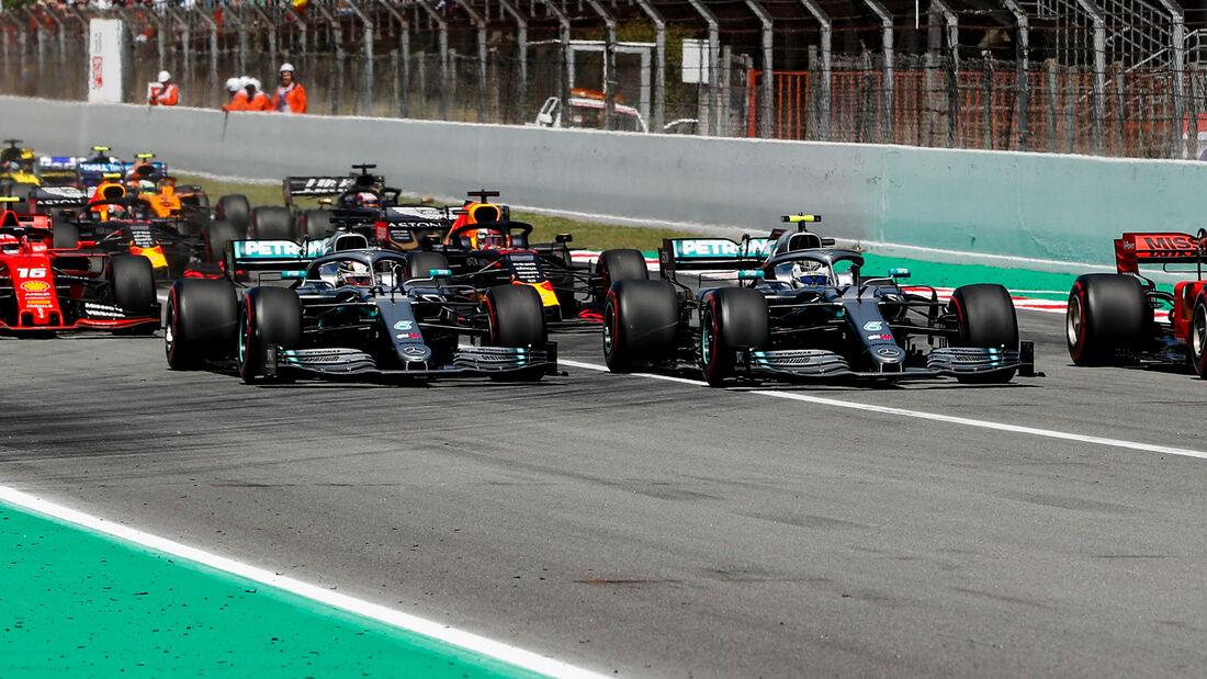 Start - GP Spanien 2019