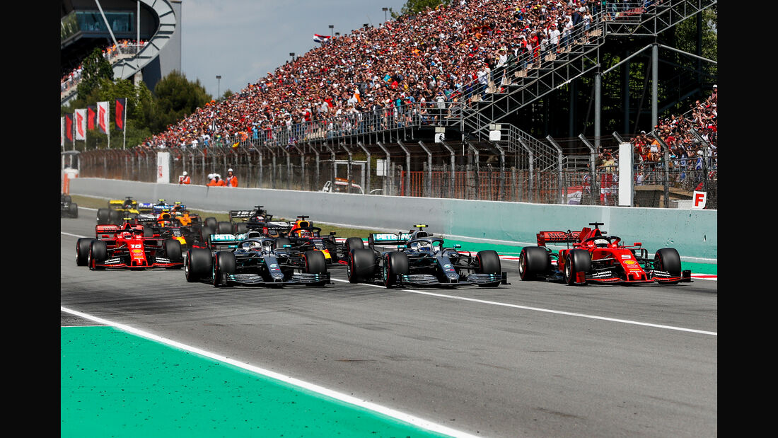 Start GP Spanien 2019