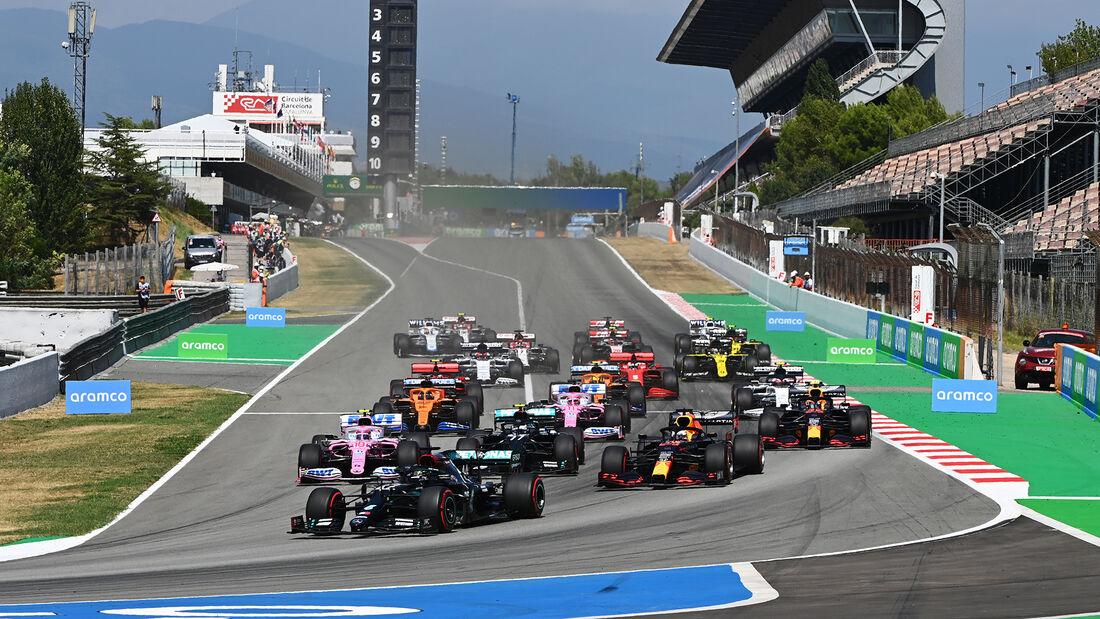 Start - GP Spanien 2020 - Barcelona