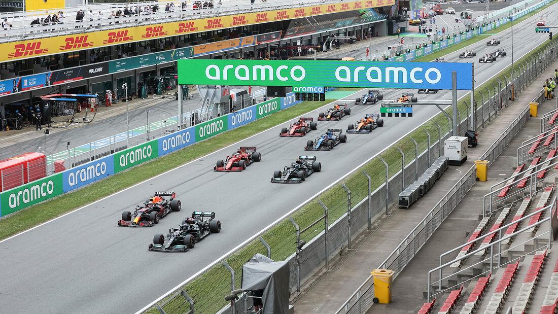 Start - GP Spanien 2021
