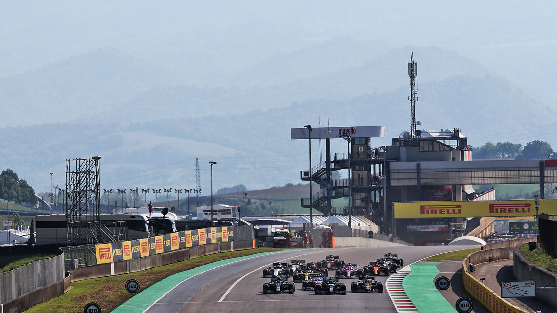 Start - GP Toskana 2020 - Mugello