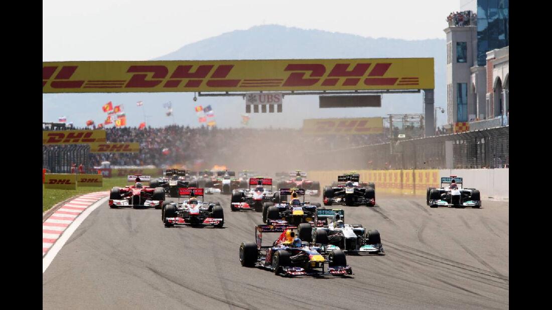 Start GP Türkei 2011