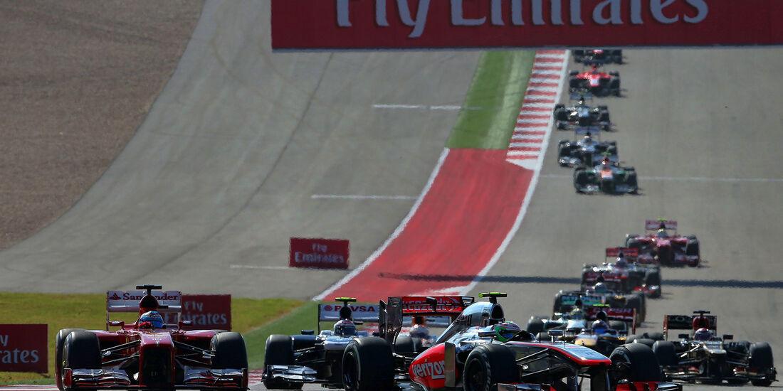 Start - GP USA 2013