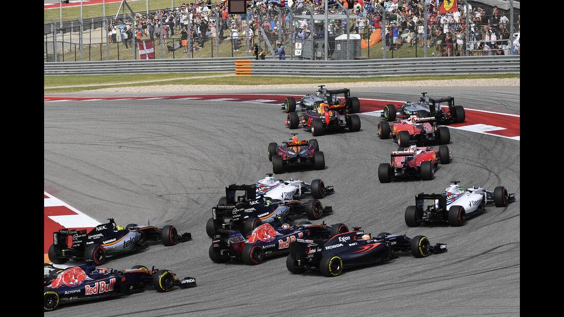 Start - GP USA 2016