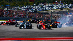 Start - GP USA 2017 - Rennen