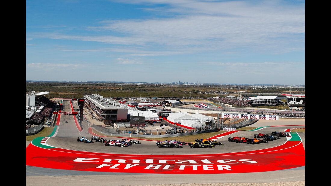 Start - GP USA 2019