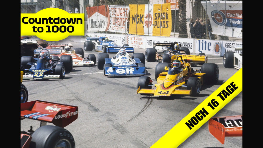 Start - GP USA-West 1977 - Long Beach