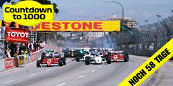 Start - GP USA-West - F1 - 1983