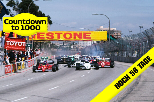 Start - GP USA-West - F1 - 1983