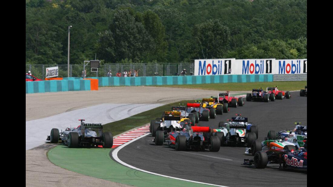 Start GP Ungarn